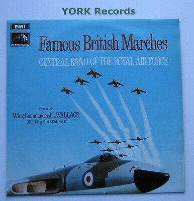 CENTRAL BAND OF THE ROYAL AIR FORCE - Famous British Marches - Ex LP Record HMV