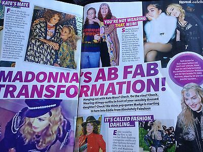 WOW /  Madonna in action: KATE MOSS Clippings