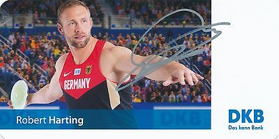Robert Harting  - Diskuswerfer  - Olympiasieger