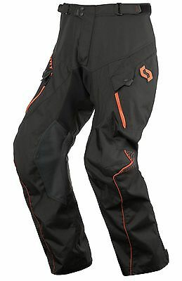 Pantaloni Pants Enduro Cross Scott Adventure 2 Nero Arancio Orange Tg 32 (48)