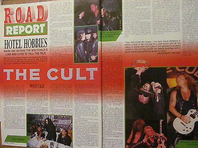 The Cult, Two Page Vintage Clipping