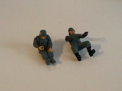 Britains Ltd WWII German Military Motorbike And Sidecar Figures Lot2