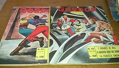 2 Flash Gordon Comics, 1960S, Italian Text