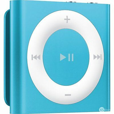 Apple iPod A1373 Shuffle 4th Generation 2GB Portable MP3 Music Player Blue