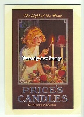 ad0292 - Prices Candles - The Light Of The Home- Modern Advert Postcard