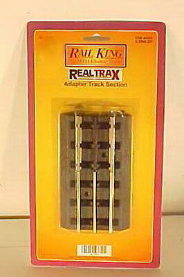 MTH 40-1011 RealTrax to Tubular O Adapter Section