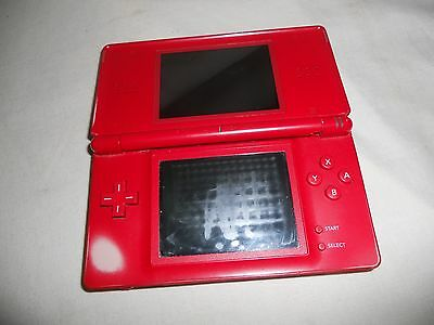 NINTENDO DS Lite Red UNTESTED Clean Genuine