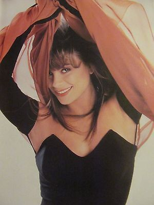 Paula Abdul, Donnie Wahlberg, New Kids on the Block, Full Page Vintage Pinup
