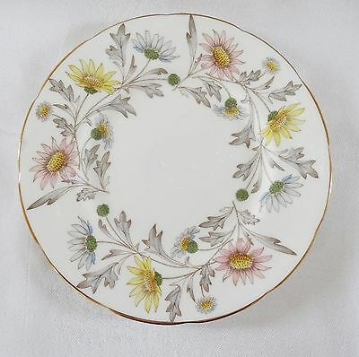 FOLEY England SOMERSET Lot of 6 Bread & Butter  Plates pretty floral gold rims