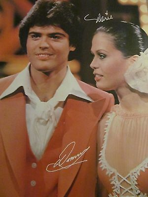 Donny and Marie Osmond, Shaun Cassidy, Double Full Page Vintage Pinup
