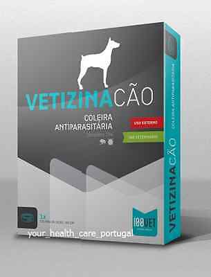 VETIZINA Dog Collar against Flea & Tick Anti Parasites Top Quality NEW and Boxed