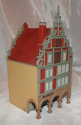 """ratskeller""  Grand Mansion House, Vgc, Kibri, N Gauge / Scale"