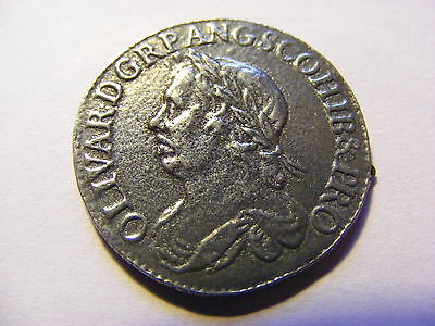 Old Novelty Hammered looking coin - 26mm Dia - very Good Condition