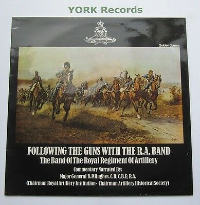 BAND OF THE ROYAL REGIMENT OF ARTILLERY - Following The Guns - Ex LP Record Pye