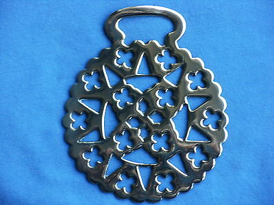 Horse Brass Stamped Lacy Pattern (3)