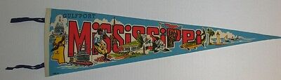 1967 Gulfport Mississippi Pennant made by Impko