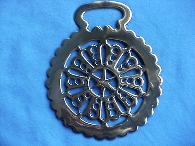 Horse Brass Stamped Lacy Pattern (5)