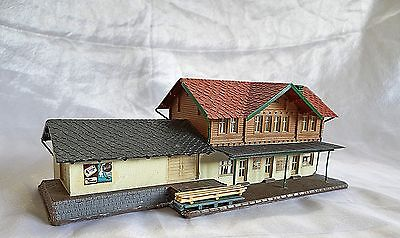 Alpine Style Country Station, Pola (Faller),  N Gauge / Scale