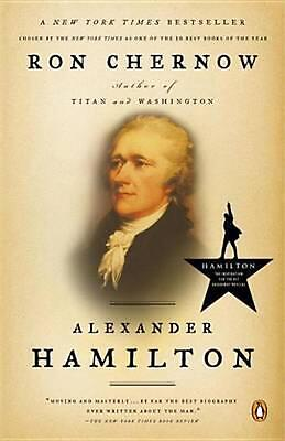 Alexander Hamilton by Ron Chernow (English) Paperback Book Free Shipping!