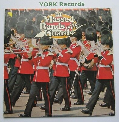MASSED BANDS OF THE GUARDS - Excellent Condition Double LP Record EMI EMSP 321