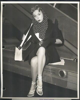 1954 Paula Kent Press Photo,  TV actress, Paula Kent Meehan