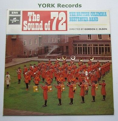 BRITISH COLUMBIA BEEFEATER BAND - The Sound Of '72 - Ex Con LP Record Columbia
