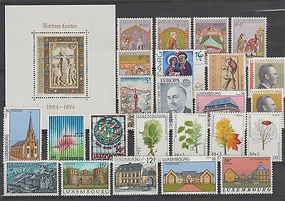 Luxembourg Lot De Timbres Neufs Annees 70/90