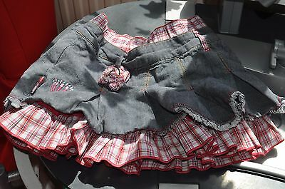 Olilly skirt, jeans size 4 years