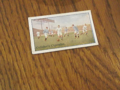 1928 Swansea Town V Manchester City - Gallaher Footballers Cigarette Card No 46