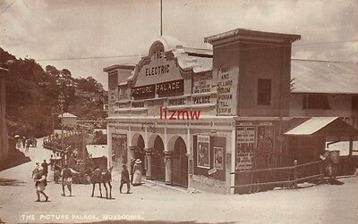 India Mussoorie The Electric Picture Palace Cinema Bar Billiard Room Photo Card