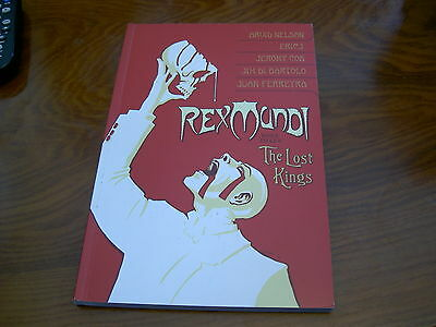 Rex Mundi Book 3 The Lost Kings Graphic Novel Nm Arvid Nelson Dark Horse
