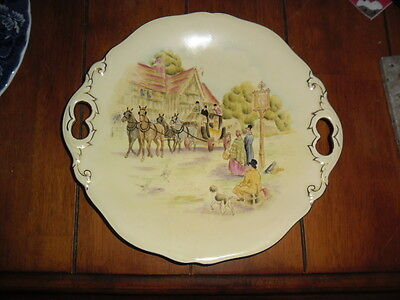 "Royal Winton ""happy Days""cake Plate"