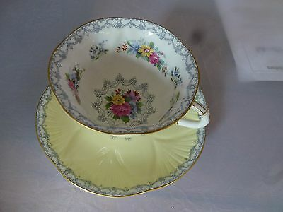 RARE Shelley  Dainty Shape TEA CUP and SAUCER  L@@K