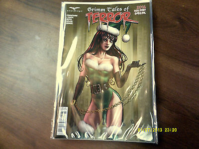 Zenescope Grimm Tales Of Terror 2016 Holiday Special Cover C Near Mint 1St Print