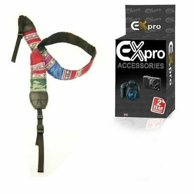 Vintage SLR DSLR Camera Shoulder Neck Strap Belt for Canon Nikon Pentax Sony MD