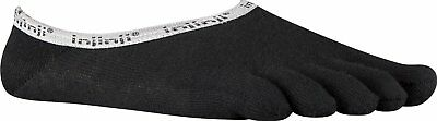 Injinji Mens Sport Original Weight Hidden Coolmax Toesocks Black Medium Run Yoga