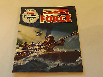 WAR PICTURE LIBRARY NO 410!,dated 1967!,V GOOD for age,great 49!YEAR OLD issue.