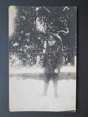 British Soldier In Germany, Royal Army Service Corps -Real Photo Postcard (1919)