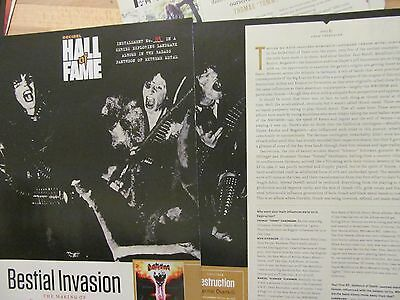 Destruction, Infernal Overkill, Five Page Clipping