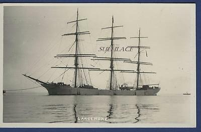 Sailing Ship Three Masted Largiemore Port Glasgow Norwegian Henry Bjorn Missing