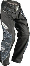 NEW FLY RACING PATROL CAMO  ATV  MX BMX MTB RACING PANTS  size 30