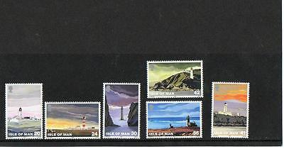 (A5)  Isle Of Man Selection Light Houses   Mnh  As Scans Collect Or Postage