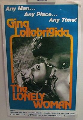 Gina Lolobrigida The Lonely Woman press book
