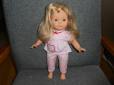 """Pretty Corolle 15"""" Blonde Doll Toddler 2010"""