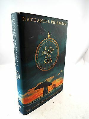 SIGNED First Edition IN THE HEART OF THE SEA By NATHANIEL PHILBRICK C2000 - G13