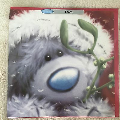 "TATTY TEDDY ME TO YOU CHRISTMAS CARD ""FIANCÉ "" FROM £1 New In Pack"