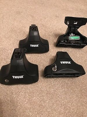 Thule 754 Rapid System Foot Pack  For Aero & Square Roof Bars