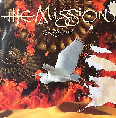 The Mission Carved In Sand Dutch Press 1990 Lp Record Vinyl Album