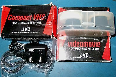 3Pc Lot - Jvc Video Accessories - Lens And Converter