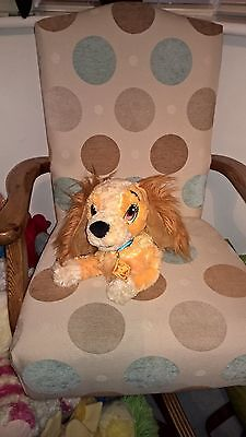 15 inch long Disney Store exclusive Lady of Disney Lady + Tramp soft toy